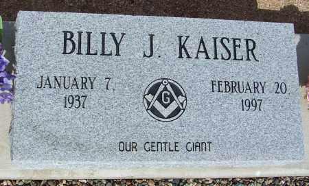 KAISER, BILLY J. - Cochise County, Arizona | BILLY J. KAISER - Arizona Gravestone Photos