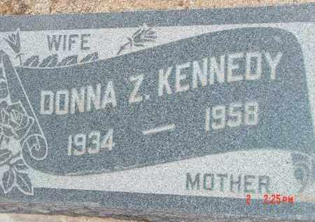 KENNEDY, DONNA Z. - Cochise County, Arizona | DONNA Z. KENNEDY - Arizona Gravestone Photos