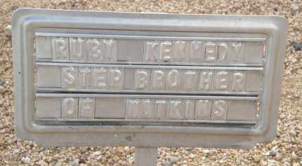 KENNEDY, RUBY - Cochise County, Arizona | RUBY KENNEDY - Arizona Gravestone Photos