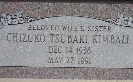 KIMBALL, CHIZUKO TSUBAKI - Cochise County, Arizona   CHIZUKO TSUBAKI KIMBALL - Arizona Gravestone Photos