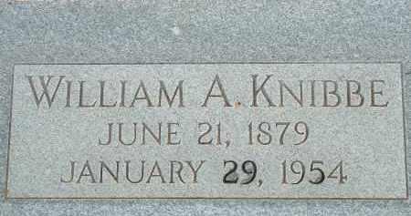 KNIBBE, WILLIAM A. - Cochise County, Arizona | WILLIAM A. KNIBBE - Arizona Gravestone Photos