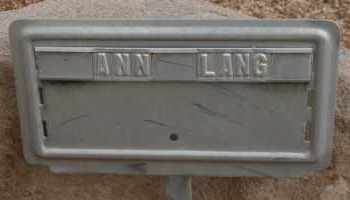 LANG, ANN - Cochise County, Arizona | ANN LANG - Arizona Gravestone Photos
