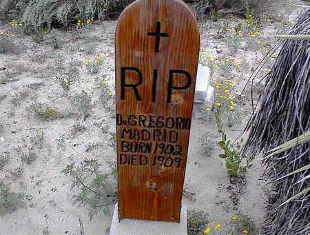 MADRID, DEGREGORIO - Cochise County, Arizona   DEGREGORIO MADRID - Arizona Gravestone Photos