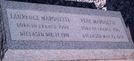 MARQUETTE, LAURENCE - Cochise County, Arizona | LAURENCE MARQUETTE - Arizona Gravestone Photos