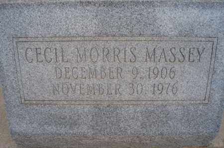 MASSEY, CECIL MORRIS - Cochise County, Arizona | CECIL MORRIS MASSEY - Arizona Gravestone Photos