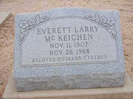 MC KEIGHEN, EVERETT LARRY - Cochise County, Arizona   EVERETT LARRY MC KEIGHEN - Arizona Gravestone Photos