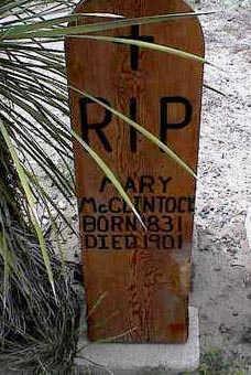MCCLINTOCK, MARY - Cochise County, Arizona | MARY MCCLINTOCK - Arizona Gravestone Photos