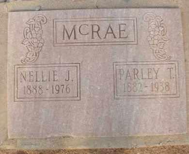 MCRAE, NELLIE J. - Cochise County, Arizona | NELLIE J. MCRAE - Arizona Gravestone Photos