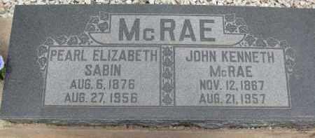 MCRAE, PEARL ELIZABETH - Cochise County, Arizona | PEARL ELIZABETH MCRAE - Arizona Gravestone Photos