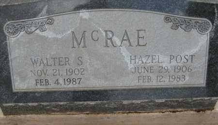MCRAE, WALTER S - Cochise County, Arizona | WALTER S MCRAE - Arizona Gravestone Photos