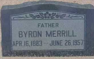 MERRILL, BYRON - Cochise County, Arizona | BYRON MERRILL - Arizona Gravestone Photos