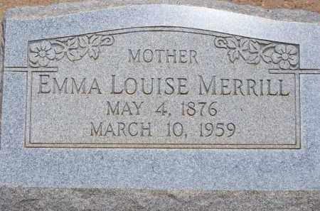 MERRILL, EMMA LOUISE - Cochise County, Arizona | EMMA LOUISE MERRILL - Arizona Gravestone Photos