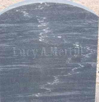 MERRILL, LUCY A. - Cochise County, Arizona   LUCY A. MERRILL - Arizona Gravestone Photos