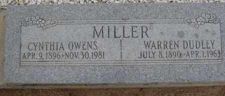 MILLER, WARREN DUDLEY - Cochise County, Arizona | WARREN DUDLEY MILLER - Arizona Gravestone Photos