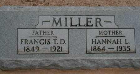 MILLER, FRANCIS T. D. - Cochise County, Arizona | FRANCIS T. D. MILLER - Arizona Gravestone Photos