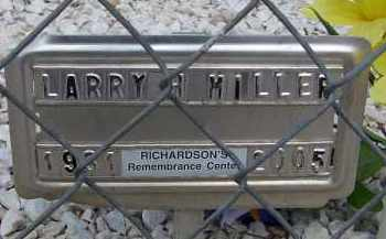 MILLER, LARRY H - Cochise County, Arizona | LARRY H MILLER - Arizona Gravestone Photos