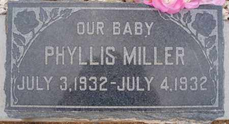 MILLER, PHYLLIS - Cochise County, Arizona | PHYLLIS MILLER - Arizona Gravestone Photos