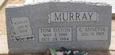 MURRAY, TOM OSTON - Cochise County, Arizona | TOM OSTON MURRAY - Arizona Gravestone Photos