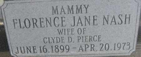 "NASH, FLORENCE JANE ""MAMMY"" - Cochise County, Arizona | FLORENCE JANE ""MAMMY"" NASH - Arizona Gravestone Photos"