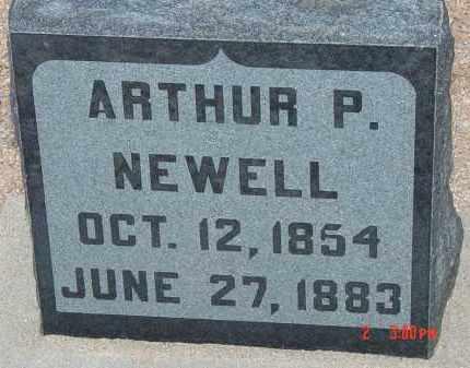 NEWELL, ARTHUR P. - Cochise County, Arizona | ARTHUR P. NEWELL - Arizona Gravestone Photos