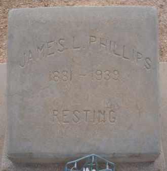 PHILLIPS, JAMES L. - Cochise County, Arizona | JAMES L. PHILLIPS - Arizona Gravestone Photos