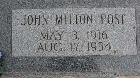 POST, JOHN MILTON - Cochise County, Arizona | JOHN MILTON POST - Arizona Gravestone Photos