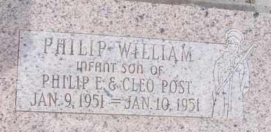 POST, PHILIP WILLIAM - Cochise County, Arizona   PHILIP WILLIAM POST - Arizona Gravestone Photos