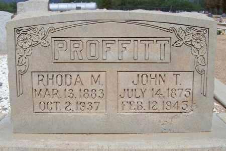 PROFFITT, RHODA M. - Cochise County, Arizona | RHODA M. PROFFITT - Arizona Gravestone Photos