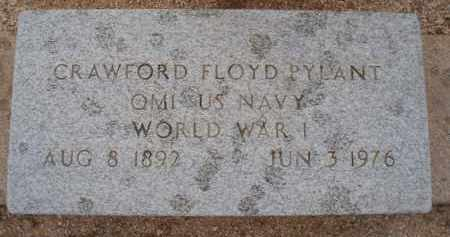 PYLANT, CRAWFORD FLOYD - Cochise County, Arizona | CRAWFORD FLOYD PYLANT - Arizona Gravestone Photos