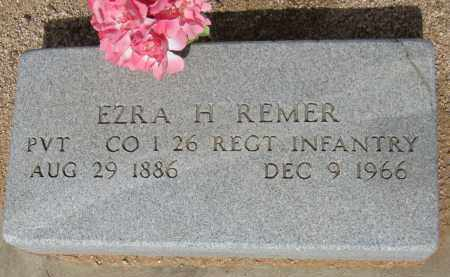 REMER, EZRA H - Cochise County, Arizona | EZRA H REMER - Arizona Gravestone Photos