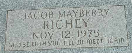 RICHEY, JACOB MAYBERRY - Cochise County, Arizona | JACOB MAYBERRY RICHEY - Arizona Gravestone Photos