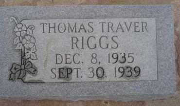 RIGGS, THOMAS TRAVER - Cochise County, Arizona   THOMAS TRAVER RIGGS - Arizona Gravestone Photos