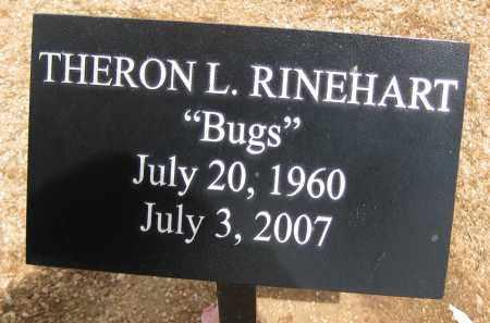 RINEHART, THERON L. - Cochise County, Arizona | THERON L. RINEHART - Arizona Gravestone Photos