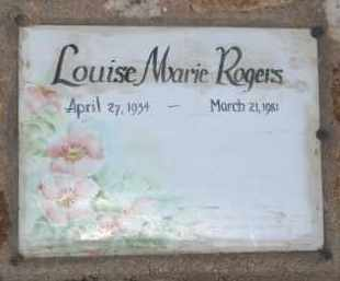 ROGERS, LOUISE MARIE - Cochise County, Arizona | LOUISE MARIE ROGERS - Arizona Gravestone Photos