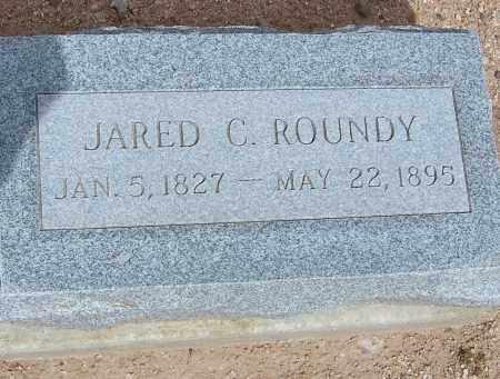 ROUNDY, JARED C. - Cochise County, Arizona   JARED C. ROUNDY - Arizona Gravestone Photos
