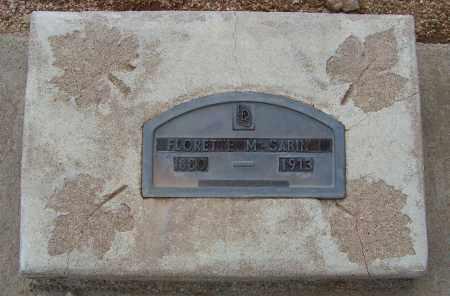 SABIN, FLORETTE M. - Cochise County, Arizona | FLORETTE M. SABIN - Arizona Gravestone Photos