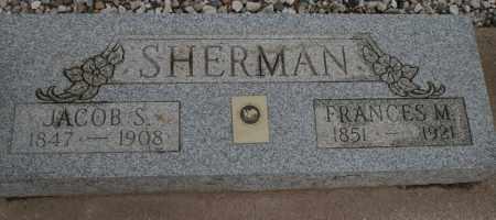 SHERMAN, JACOB S. - Cochise County, Arizona | JACOB S. SHERMAN - Arizona Gravestone Photos