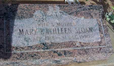 SLOAN, MARY KATHLEEN - Cochise County, Arizona | MARY KATHLEEN SLOAN - Arizona Gravestone Photos
