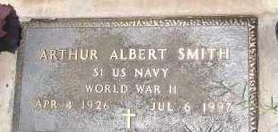 SMITH, ARTHUR ALBERT - Cochise County, Arizona | ARTHUR ALBERT SMITH - Arizona Gravestone Photos