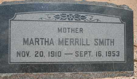 MERRILL SMITH, MARTHA - Cochise County, Arizona | MARTHA MERRILL SMITH - Arizona Gravestone Photos