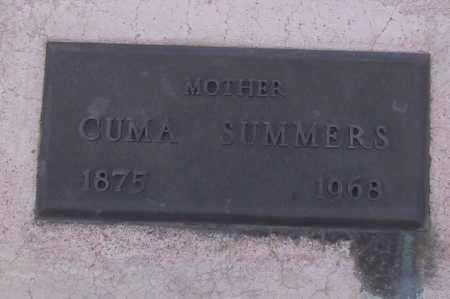 SUMMERS, CUMA - Cochise County, Arizona | CUMA SUMMERS - Arizona Gravestone Photos