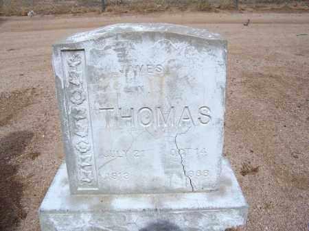 THOMAS, JAMES N. - Cochise County, Arizona | JAMES N. THOMAS - Arizona Gravestone Photos