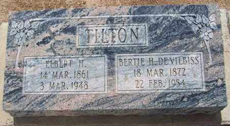 DEVILBISS TILTON, BERTIE H. - Cochise County, Arizona   BERTIE H. DEVILBISS TILTON - Arizona Gravestone Photos