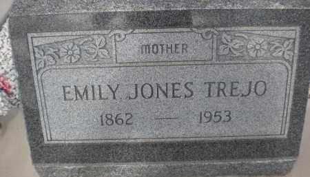 TREJO, EMILY JONES - Cochise County, Arizona | EMILY JONES TREJO - Arizona Gravestone Photos