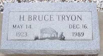 TRYON, H. BRUCE - Cochise County, Arizona | H. BRUCE TRYON - Arizona Gravestone Photos