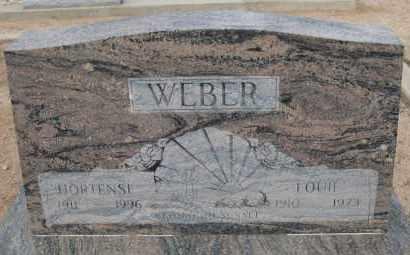 WEBER, HORTENSE - Cochise County, Arizona   HORTENSE WEBER - Arizona Gravestone Photos