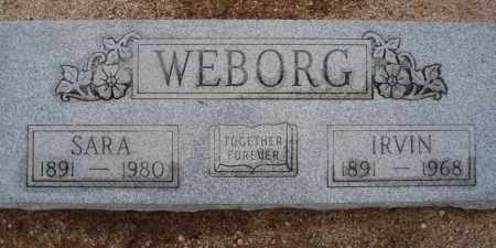 WEBORG, IRVIN - Cochise County, Arizona   IRVIN WEBORG - Arizona Gravestone Photos
