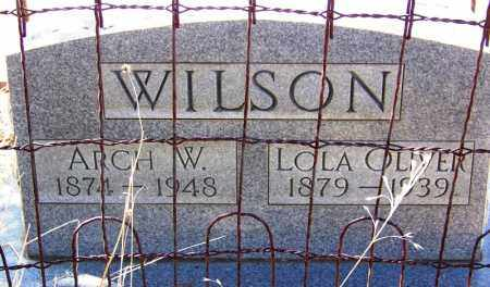 WILSON, ARCH W - Cochise County, Arizona | ARCH W WILSON - Arizona Gravestone Photos