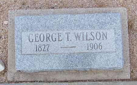 WILSON, GEORGE T. - Cochise County, Arizona | GEORGE T. WILSON - Arizona Gravestone Photos