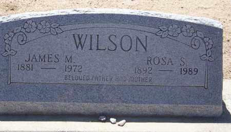 WILSON, JAMES M. - Cochise County, Arizona | JAMES M. WILSON - Arizona Gravestone Photos